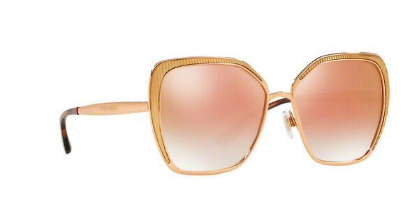 DOLCE & GABBANA Dolce & Gabbana Damen Sonnenbrille » DG2197«, rosa, 12986F - rosa/rosa