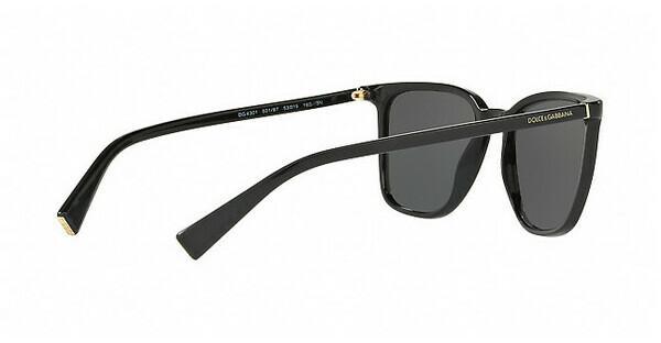 DOLCE & GABBANA Dolce & Gabbana Herren Sonnenbrille » DG4301«, grau, 30906G - grau/schwarz