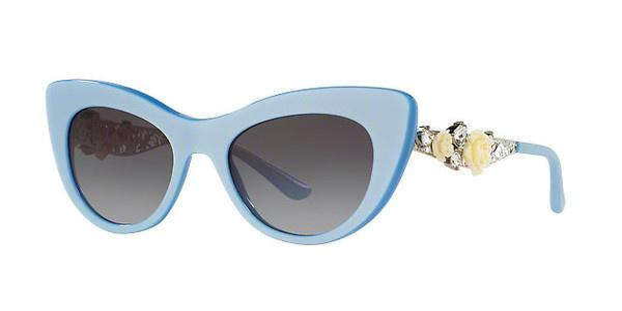 DOLCE & GABBANA Dolce & Gabbana Damen Sonnenbrille » DG4302B«, blau, 31008G - blau/grau