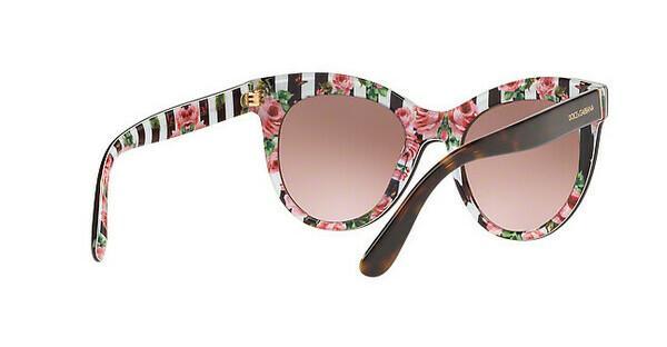 DOLCE & GABBANA Dolce & Gabbana Damen Sonnenbrille » DG4311«, rosa, 31667E - rosa/silber
