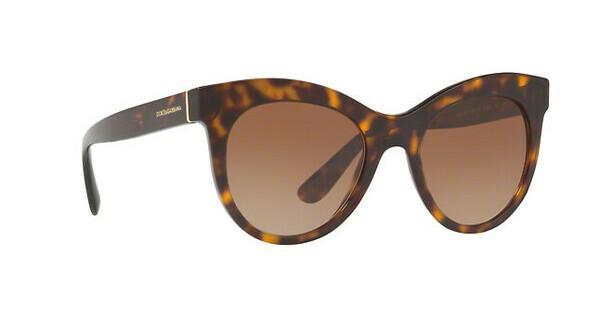 DOLCE & GABBANA Dolce & Gabbana Damen Sonnenbrille » DG4311«, braun, 31778F - braun/blau