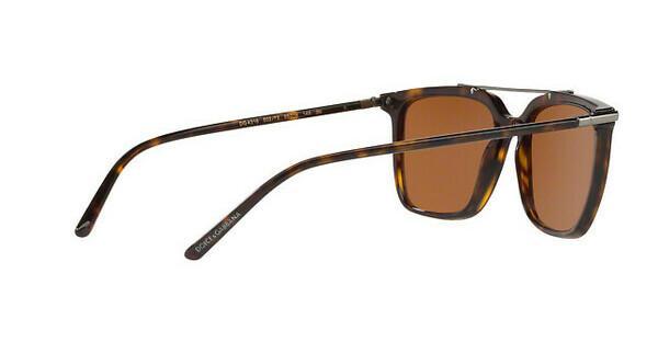 DOLCE & GABBANA Dolce & Gabbana Herren Sonnenbrille » DG4318«, braun, 502/73 - braun/braun