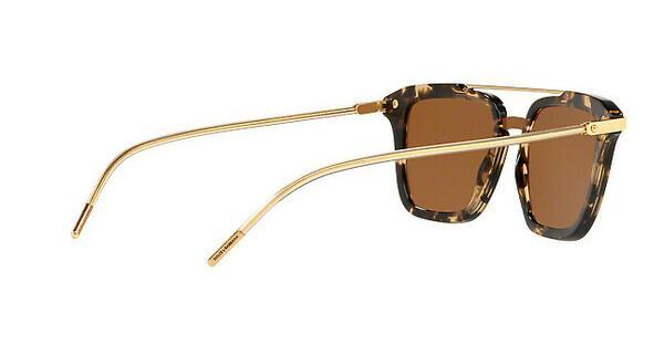 DOLCE & GABBANA Dolce & Gabbana Herren Sonnenbrille » DG4327«, braun, 31696H - braun/gold