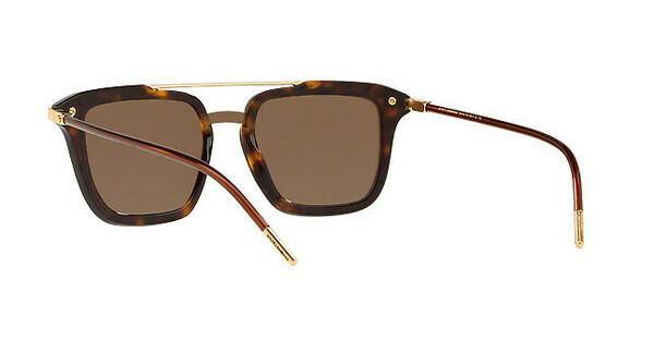 DOLCE & GABBANA Dolce & Gabbana Herren Sonnenbrille » DG4327«, braun, 502/73 - braun/braun