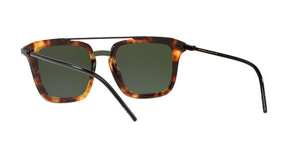 DOLCE & GABBANA Dolce & Gabbana Herren Sonnenbrille » DG4327«, braun, 623/71 - braun/grün