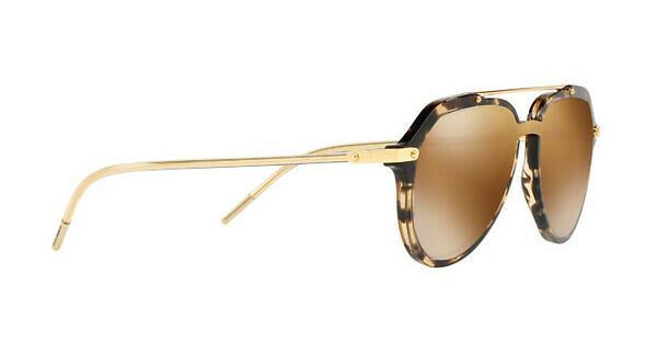 DOLCE & GABBANA Dolce & Gabbana Herren Sonnenbrille » DG4330«, braun, 31696H - braun/gold