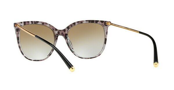 DOLCE & GABBANA Dolce & Gabbana Damen Sonnenbrille » DG4333«, schwarz, 31746E - schwarz/gold