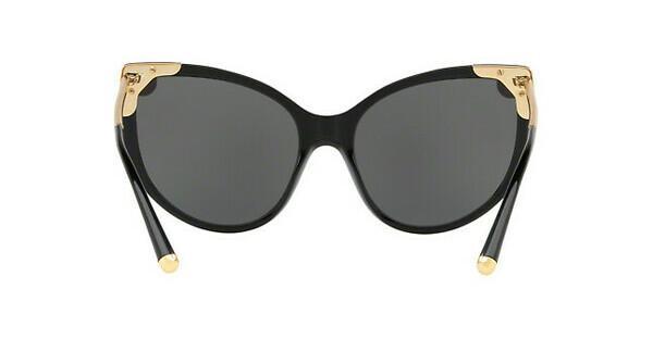 DOLCE & GABBANA Dolce & Gabbana Damen Sonnenbrille » DG4337«, schwarz, 501/87 - schwarz/grau