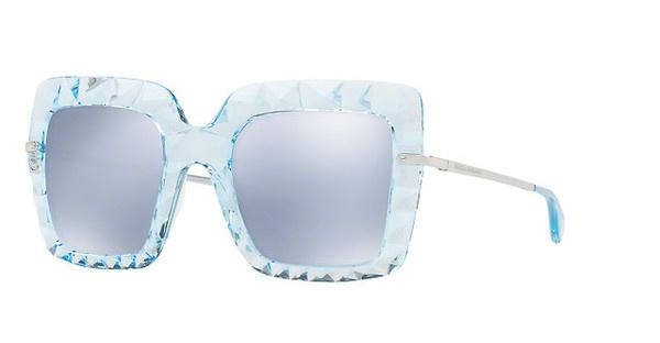 DOLCE & GABBANA Dolce & Gabbana Damen Sonnenbrille » DG6111«, blau, 31346J - blau/weiß