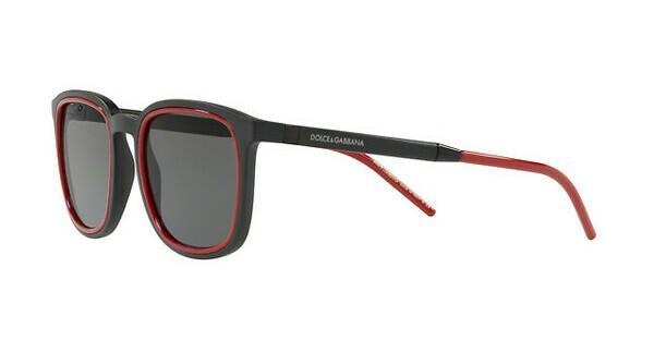 DOLCE & GABBANA Dolce & Gabbana Herren Sonnenbrille » DG6115«, schwarz, 252587 - schwarz/grau