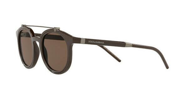 DOLCE & GABBANA Dolce & Gabbana Herren Sonnenbrille » DG6116«, braun, 304273 - braun/braun
