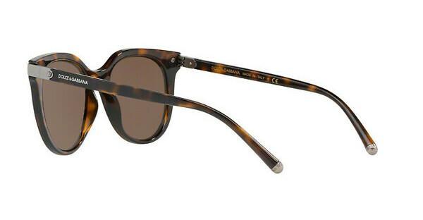 DOLCE & GABBANA Dolce & Gabbana Damen Sonnenbrille » DG6117«, braun, 502/73 - braun/braun