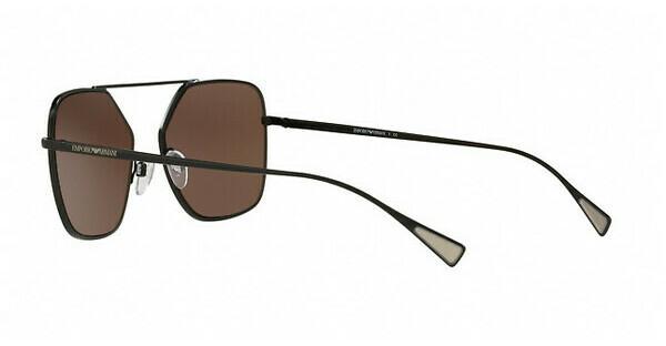 Emporio Armani Herren Sonnenbrille » EA2053«, schwarz, 30017D - schwarz/braun