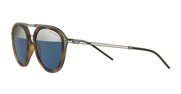 Emporio Armani Herren Sonnenbrille » EA2056«, grau, 30031X - grau/silber