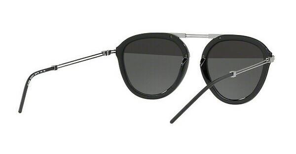 Emporio Armani Herren Sonnenbrille » EA2056«, grau, 30101Y - grau/silber