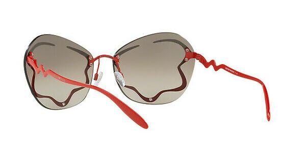 Emporio Armani Damen Sonnenbrille » EA2060«, rot, 32147I - rot/gold