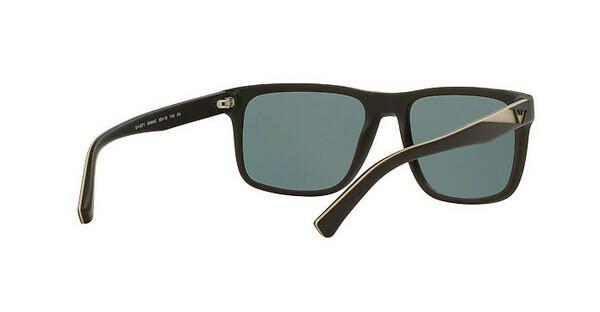Emporio Armani Herren Sonnenbrille » EA4071«, braun, 55094Z - braun/ grün