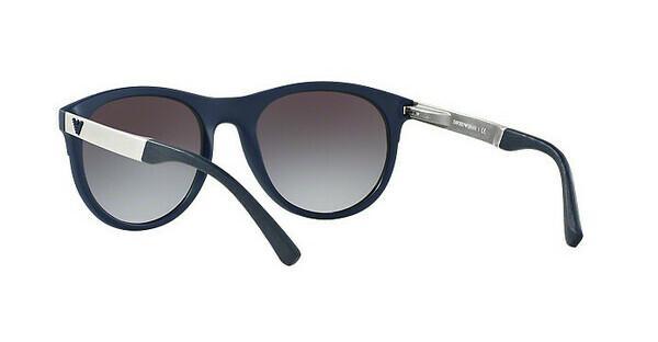 Emporio Armani Herren Sonnenbrille » EA4084«, blau, 50598G - blau/grau