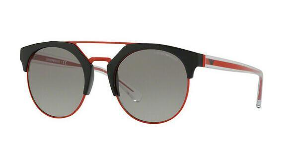 Emporio Armani Damen Sonnenbrille » EA4092«, schwarz, 501711 - schwarz/grau
