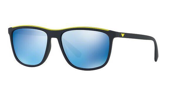 Emporio Armani Herren Sonnenbrille » EA4109«, blau, 563855 - blau/blau