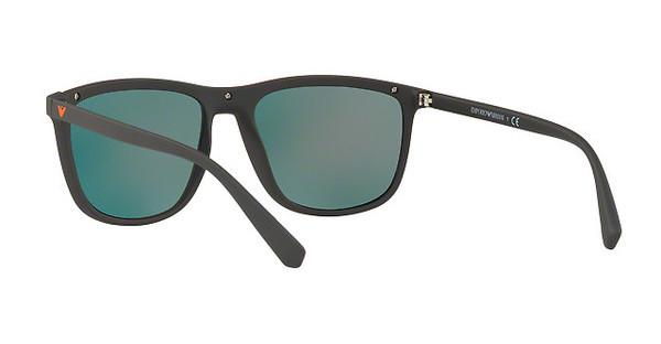 Emporio Armani Herren Sonnenbrille » EA4109«, braun, 56406Q - braun/rot