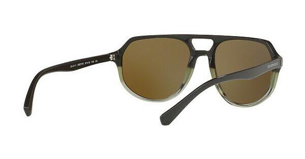 Emporio Armani Herren Sonnenbrille » EA4111«, grün, 562773 - grün/braun