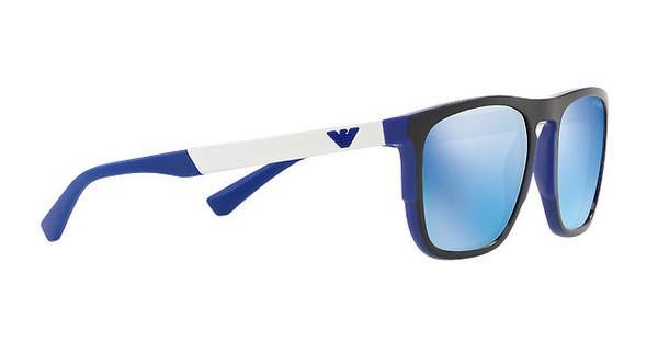 Emporio Armani Herren Sonnenbrille » EA4114«, blau, 567355 - blau/blau