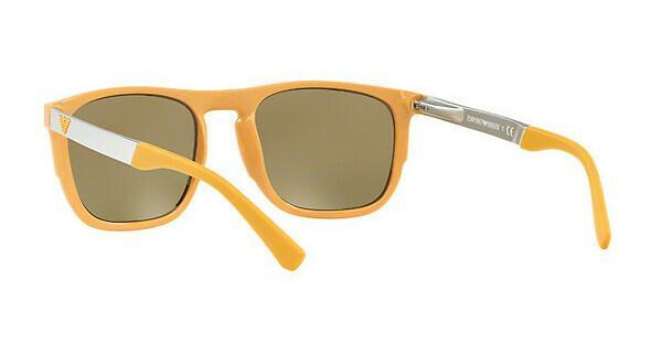 Emporio Armani Herren Sonnenbrille » EA4114«, gelb, 56755A - gelb/ gold