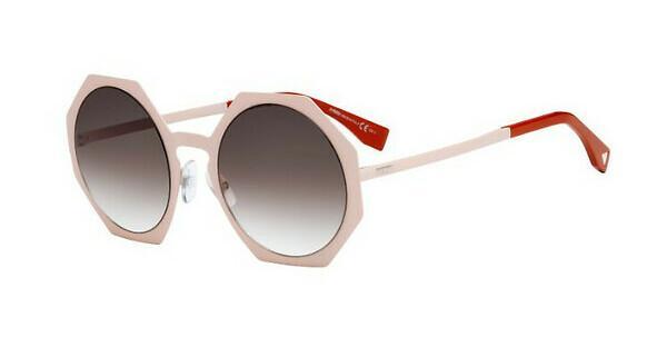 Fendi Damen Sonnenbrille FF 0152/S JS Ttm, Pink (Pink/Brown Sf), 51