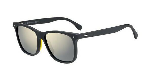 FENDI Fendi Herren Sonnenbrille » FF M0002/S«, grau, ACI/UE - grau/ weiß