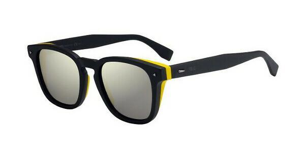 FENDI Fendi Herren Sonnenbrille » FF M0018/S«, grau, KB7/UE - grau/ weiß