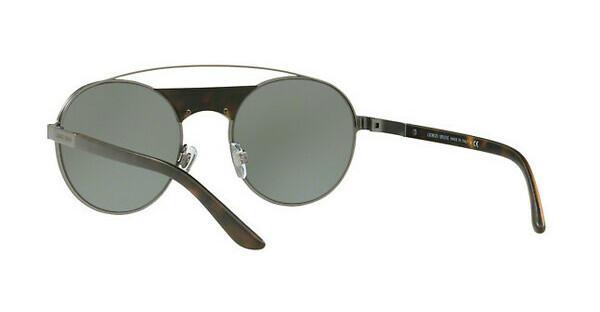 Giorgio Armani Herren Sonnenbrille » AR6047«, grau, 30036R - grau/grün