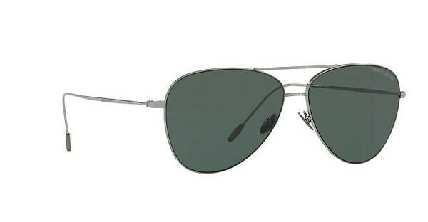 Giorgio Armani Herren Sonnenbrille » AR6049«, grau, 301071 - grau/grün