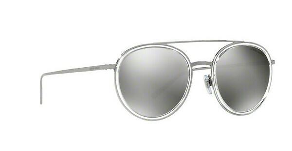 Giorgio Armani Damen Sonnenbrille » AR6051«, grau, 30106G - grau/silber