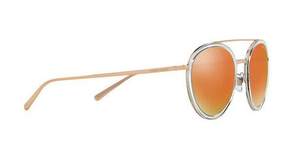Giorgio Armani Damen Sonnenbrille » AR6051«, braun, 30114Z - braun/ gold