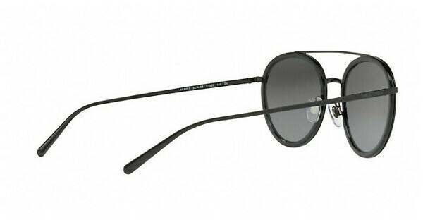 Giorgio Armani Damen Sonnenbrille » AR6051«, schwarz, 301488 - schwarz/silber