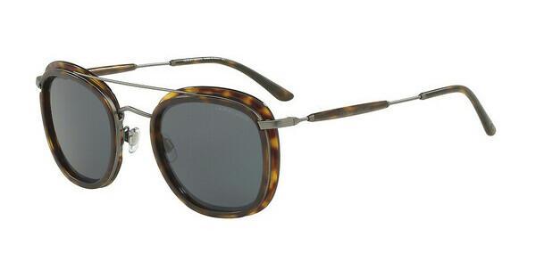 Giorgio Armani Herren Sonnenbrille » AR6054«, grau, 317173 - grau/braun