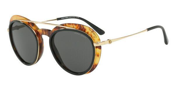 Giorgio Armani Damen Sonnenbrille » AR6055«, grau, 301073 - grau/braun
