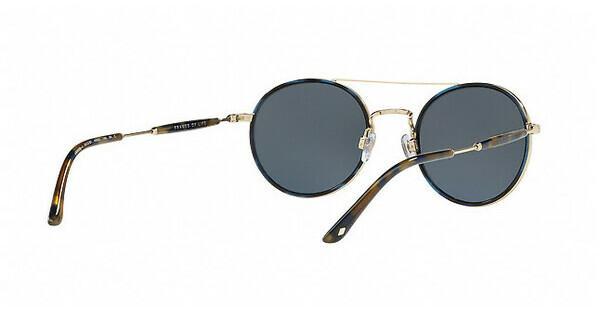Giorgio Armani Herren Sonnenbrille » AR6056J«, blau, 301387 - blau/grau