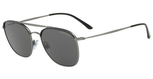 Giorgio Armani Herren Sonnenbrille » AR6058J«, schwarz, 300387 - schwarz/grau