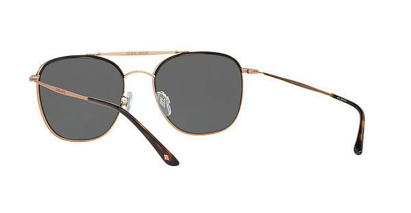 Giorgio Armani Herren Sonnenbrille » AR6058J«, braun, 300481 - braun/grau