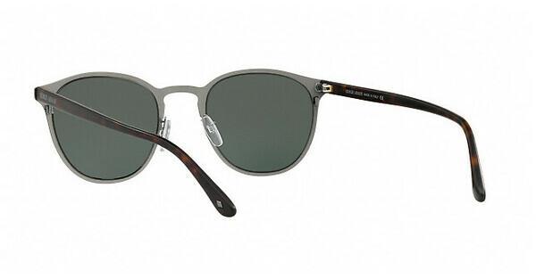 Giorgio Armani Herren Sonnenbrille » AR6062«, grau, 303271 - grau/ grün