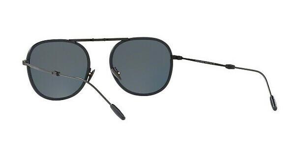 Giorgio Armani Herren Sonnenbrille » AR6064Q«, schwarz, 300187 - schwarz/grau