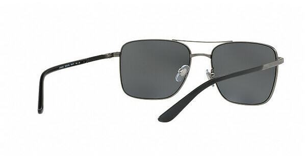 Giorgio Armani Herren Sonnenbrille » AR6065«, schwarz, 300181 - schwarz/grau