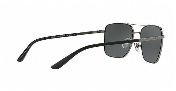 Giorgio Armani Herren Sonnenbrille » AR6072«, schwarz, 300187 - schwarz/grau