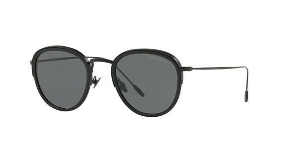 Giorgio Armani Herren Sonnenbrille » AR6068«, schwarz, 300187 - schwarz/grau