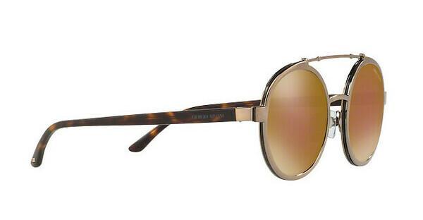 Giorgio Armani Herren Sonnenbrille » AR6070«, braun, 31997D - braun/braun