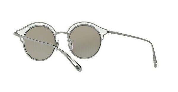 Giorgio Armani Damen Sonnenbrille » AR6071«, grau, 30106G - grau/silber