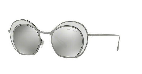 Giorgio Armani Damen Sonnenbrille » AR6073«, grau, 30106G - grau/silber