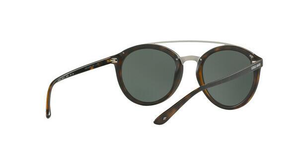 Giorgio Armani Damen Sonnenbrille » AR8083«, schwarz, 5017T3 - schwarz/grau